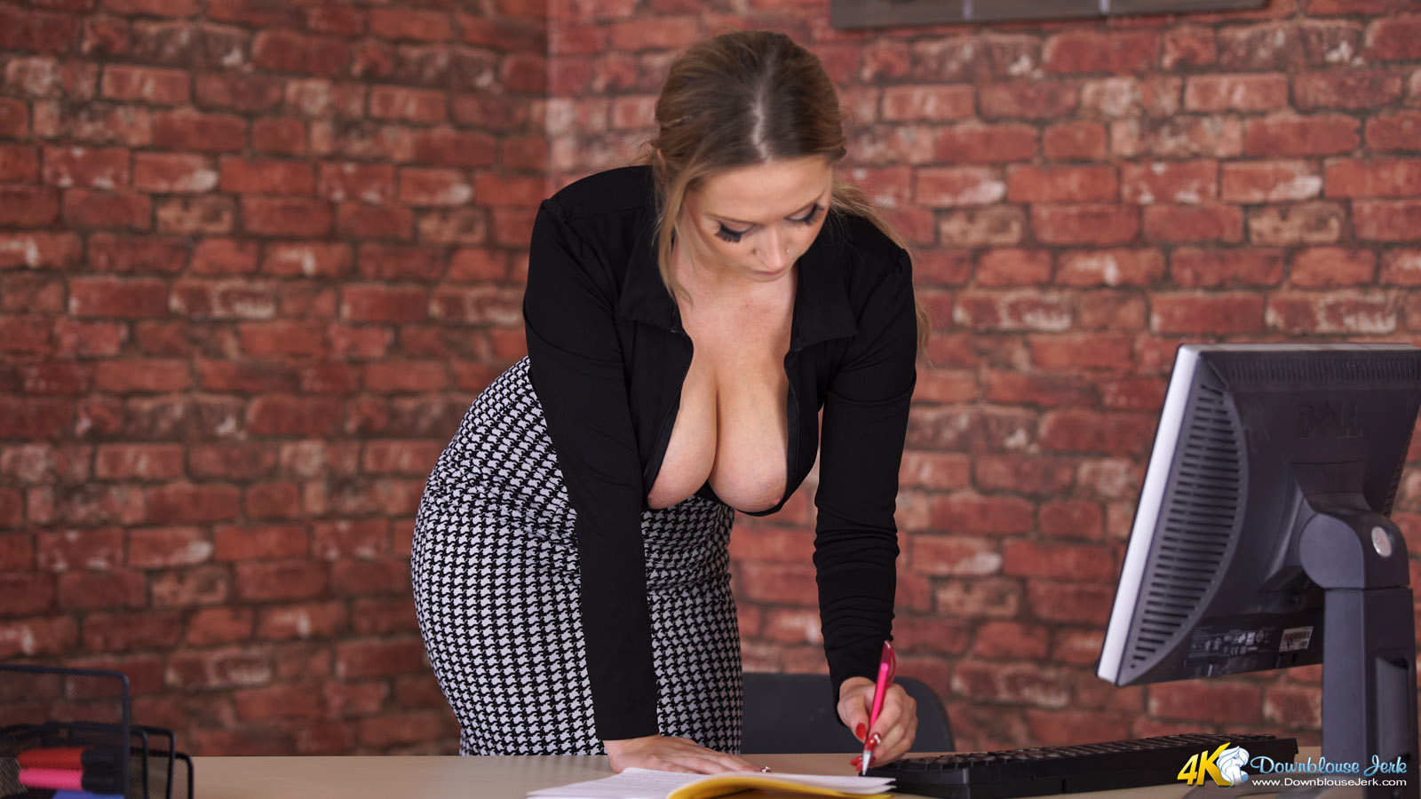Boss shows her what a real fuck means - 1 part 8