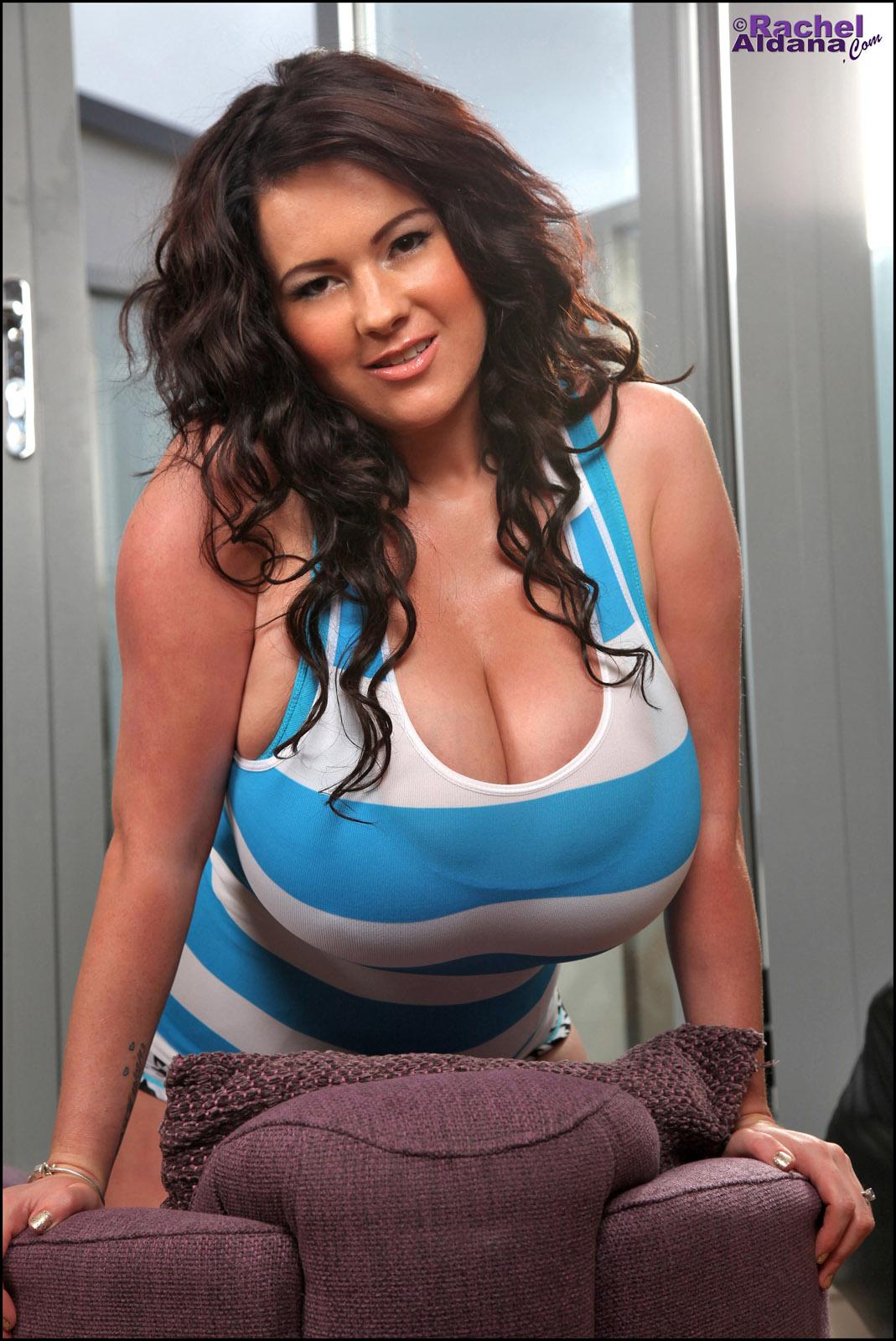 Rachel Aldana Blue Stripes
