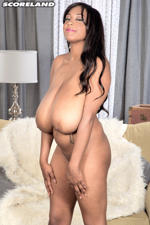 Ebony with big tits porn-7882