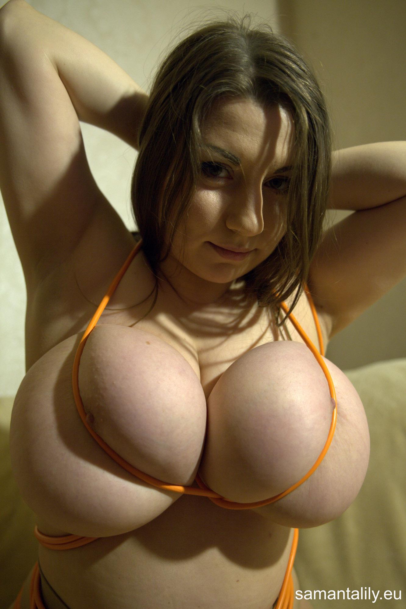 Bondage boobs