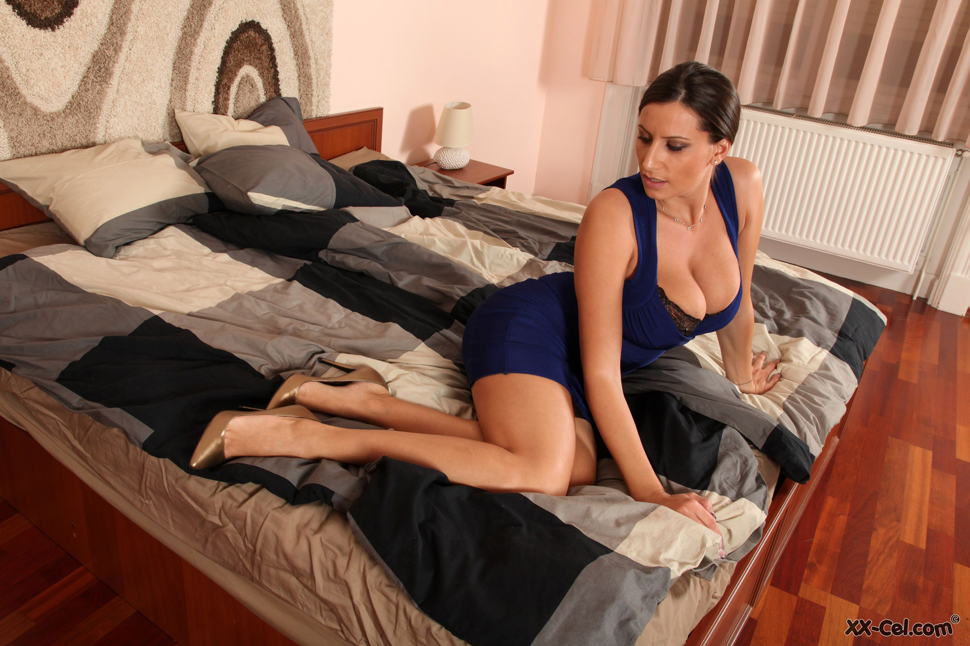 Sensual Jane Tight Blue Dress Xxcel