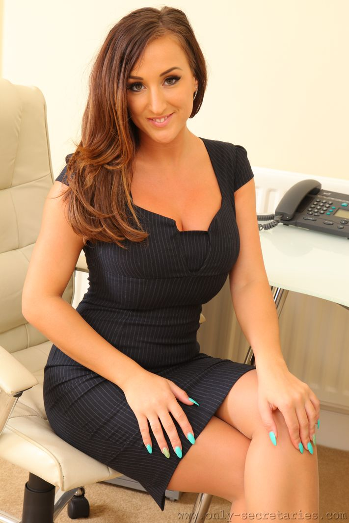 Stacey Poole Navy Dress