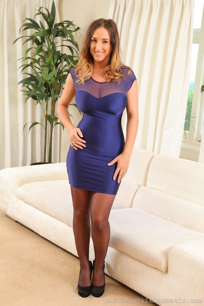 Click Here To See Stacey Poole Layered Nylons Pictures to pin on ...
