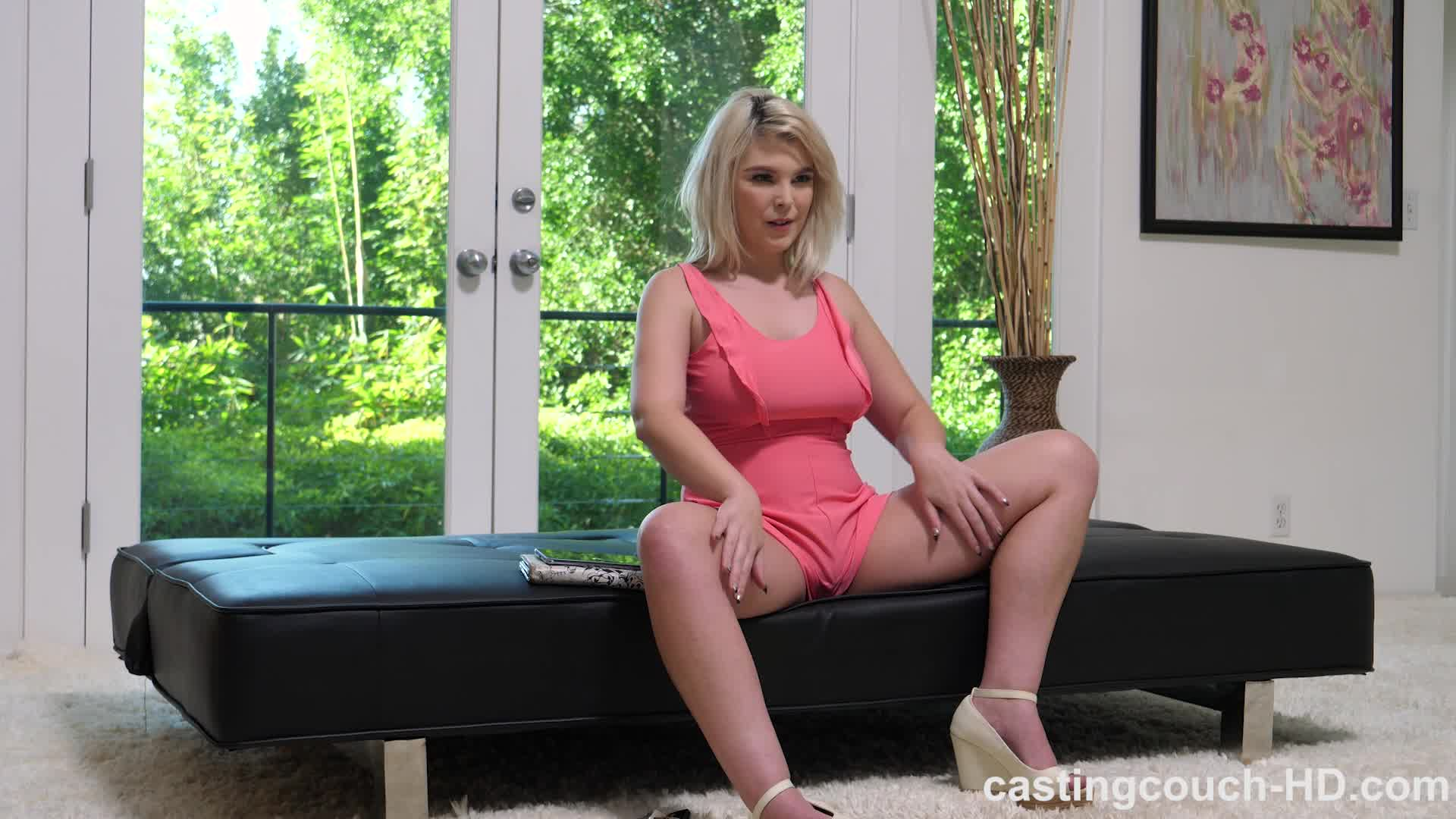Taylor Nicole Pink Dress Casting Couch Hd