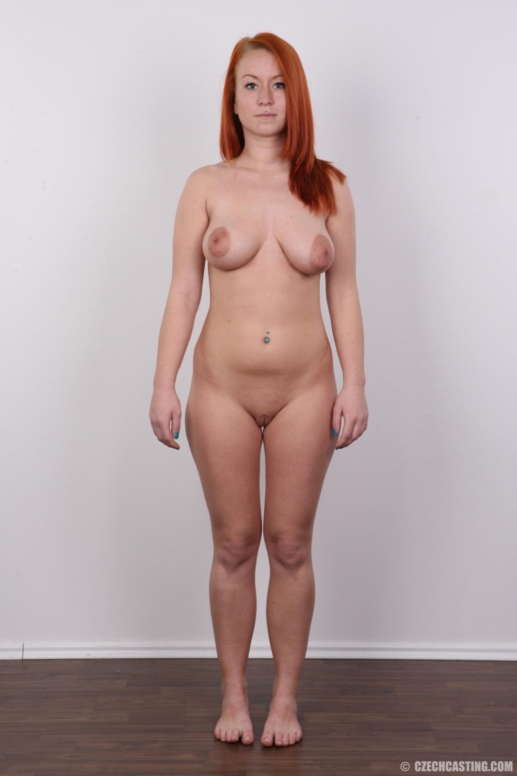 Tereza Vibrant Redhead Casting Girl-1297