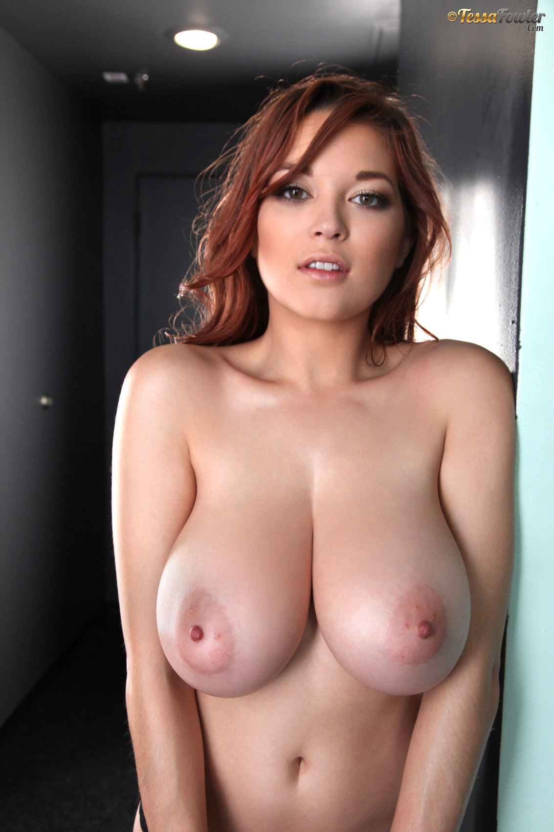 Tessa fowler boobs