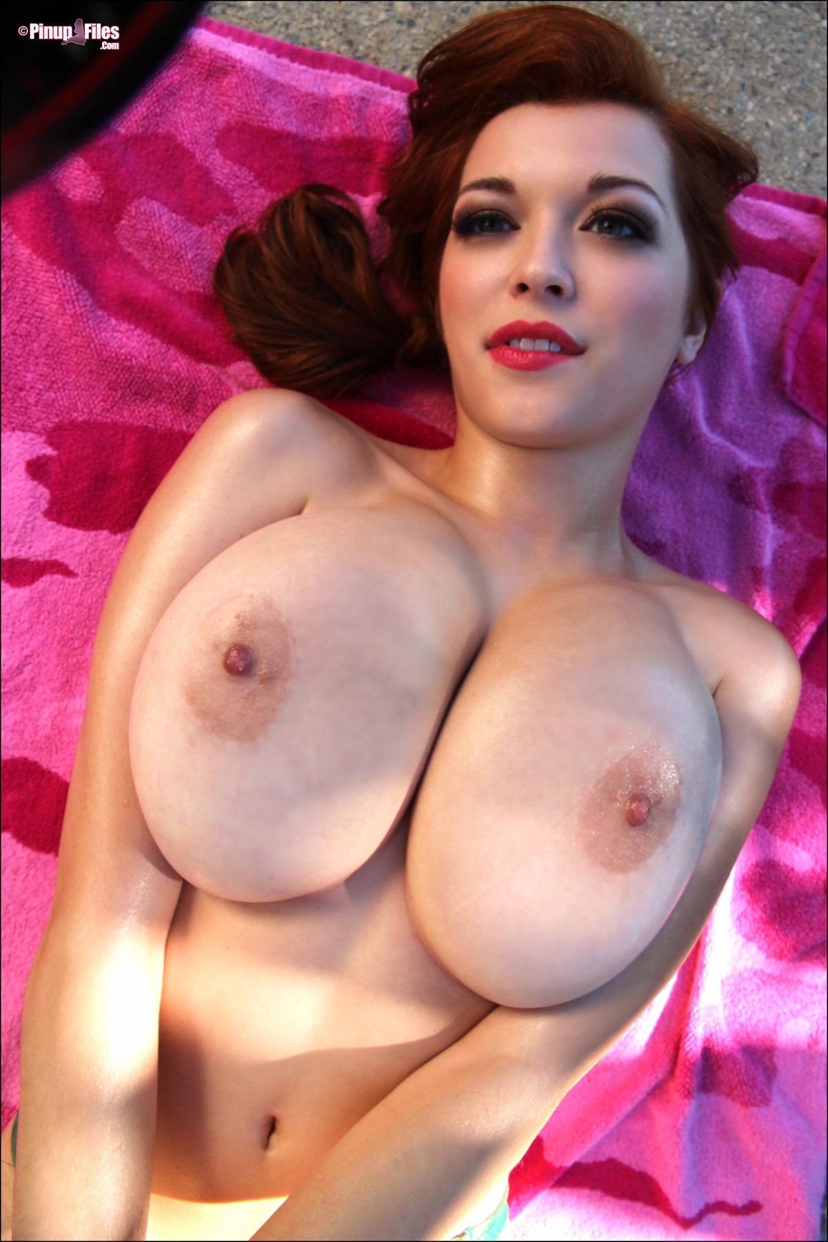 Asian pinup large boobs girl nude pussy college