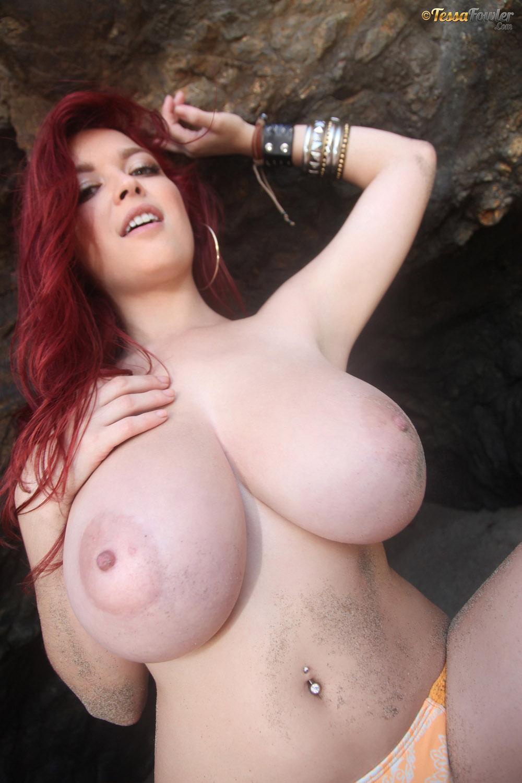 boobs big Tessa fowler