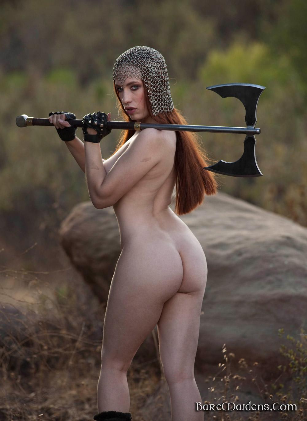 Nude Amazon Warriors Fantasy