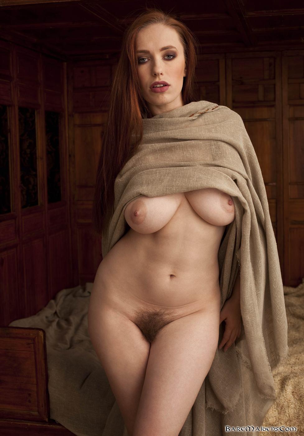 Nude redhead warrior sexy thumbs