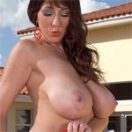 Alia Janine Red Bikini