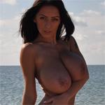 Anya Busty Nude Beach