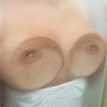 Aubrey Paige Boobs On Glass