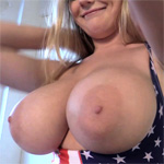 Beth Lily 4th Of July Boobs