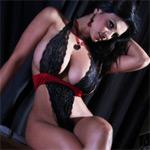 Denise Milani Dark and Sexy