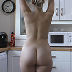 Dolly Naked Breakfast Downblouse Loving