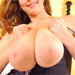 Donna Boobs On Bed