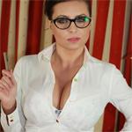 Ewa Sonnet Busty Secretary