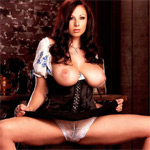 Gianna Michaels Beer Maid