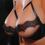 Jodie Gasson Open Lace Bra