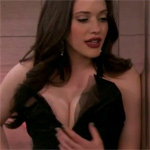 I Dont Post Celebrities That Much But I Do Know Who Kat Dennings Is She Is One Big Pair Of Huge Bouncy Titties And You Can See Them In Motion Right