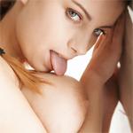 Katerina Hartlova Boob Licking
