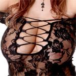 Kathy Kozy Lace Lingerie Curves