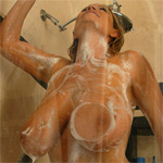 Kelly Madison Soapy Shower