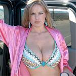 Kelly Madison Road Side Nudity