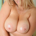 Lindsey British Boobs and Oil