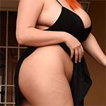 Lucy Vixen Black Dress Nude