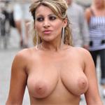 Monic Nude In Public