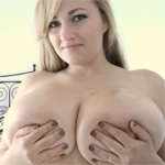 Sara Willis Pink Bra And Oil