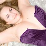 Sara Willis Purple Corset