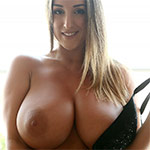 Stacey Poole Black Lingerie Cleavage Pinupfiles