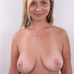 Tereza Busty Blonde Casting Call