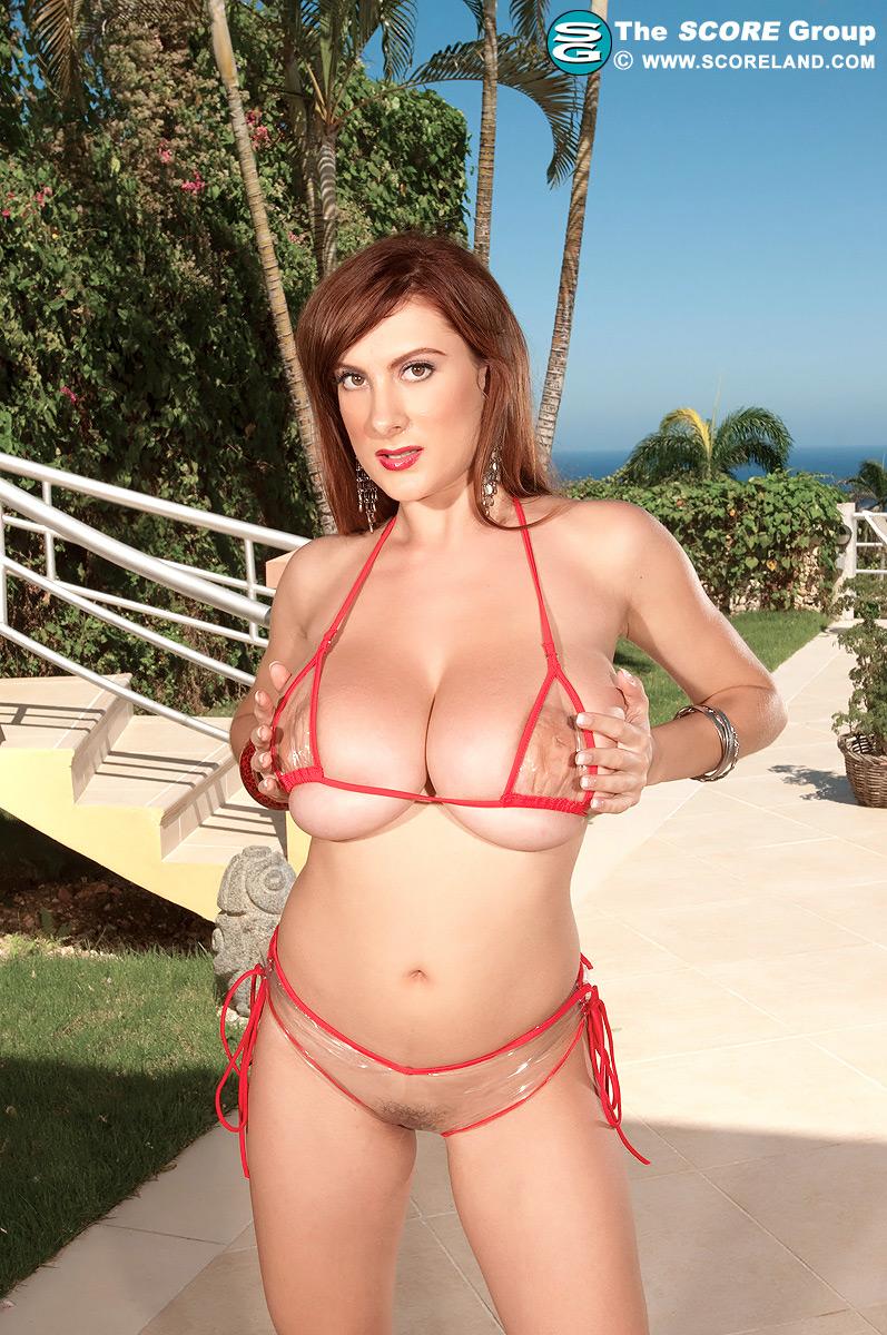 Alia janine huge tits jizzed - 3 part 3