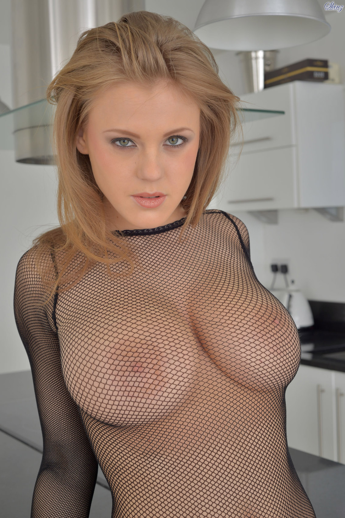 Puffy shaved virgin pussy
